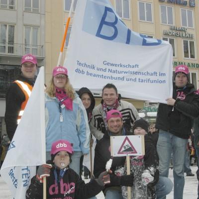 Impression von der Demonstration 2015 in Düsseldorf